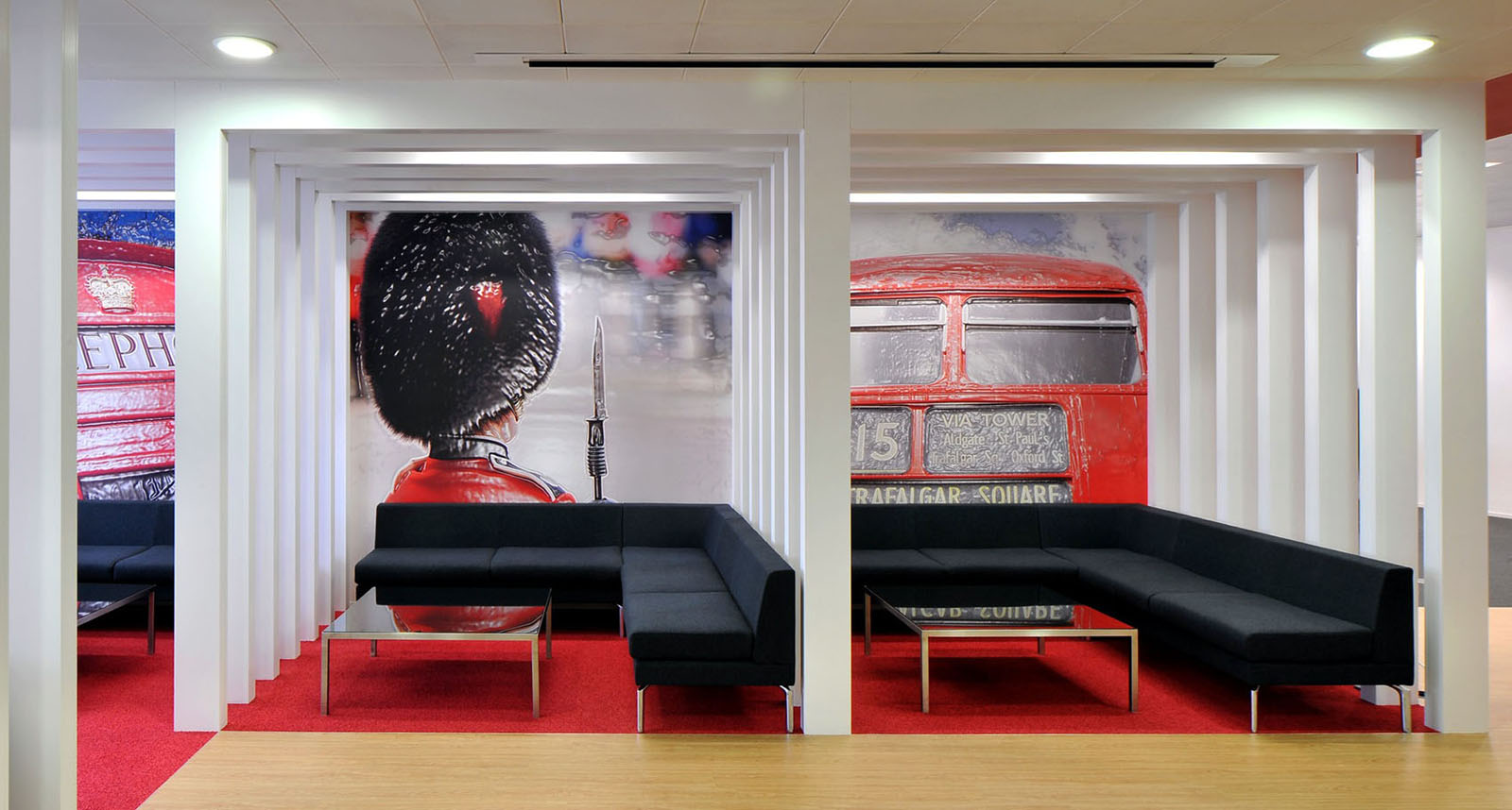 Office Interior Designers London Inspiring British Design At Rackspace