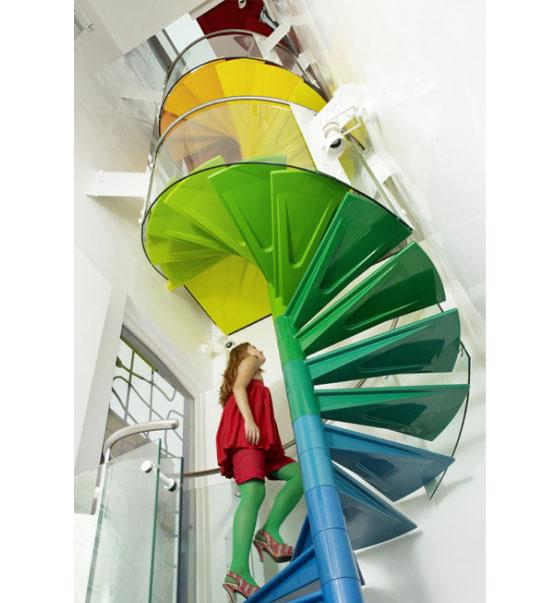 The Rainbow House Located