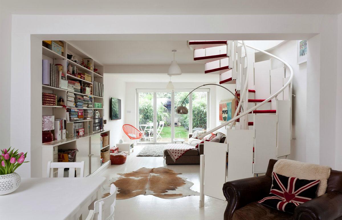 Interior design home themes - Red And White Interior Decor
