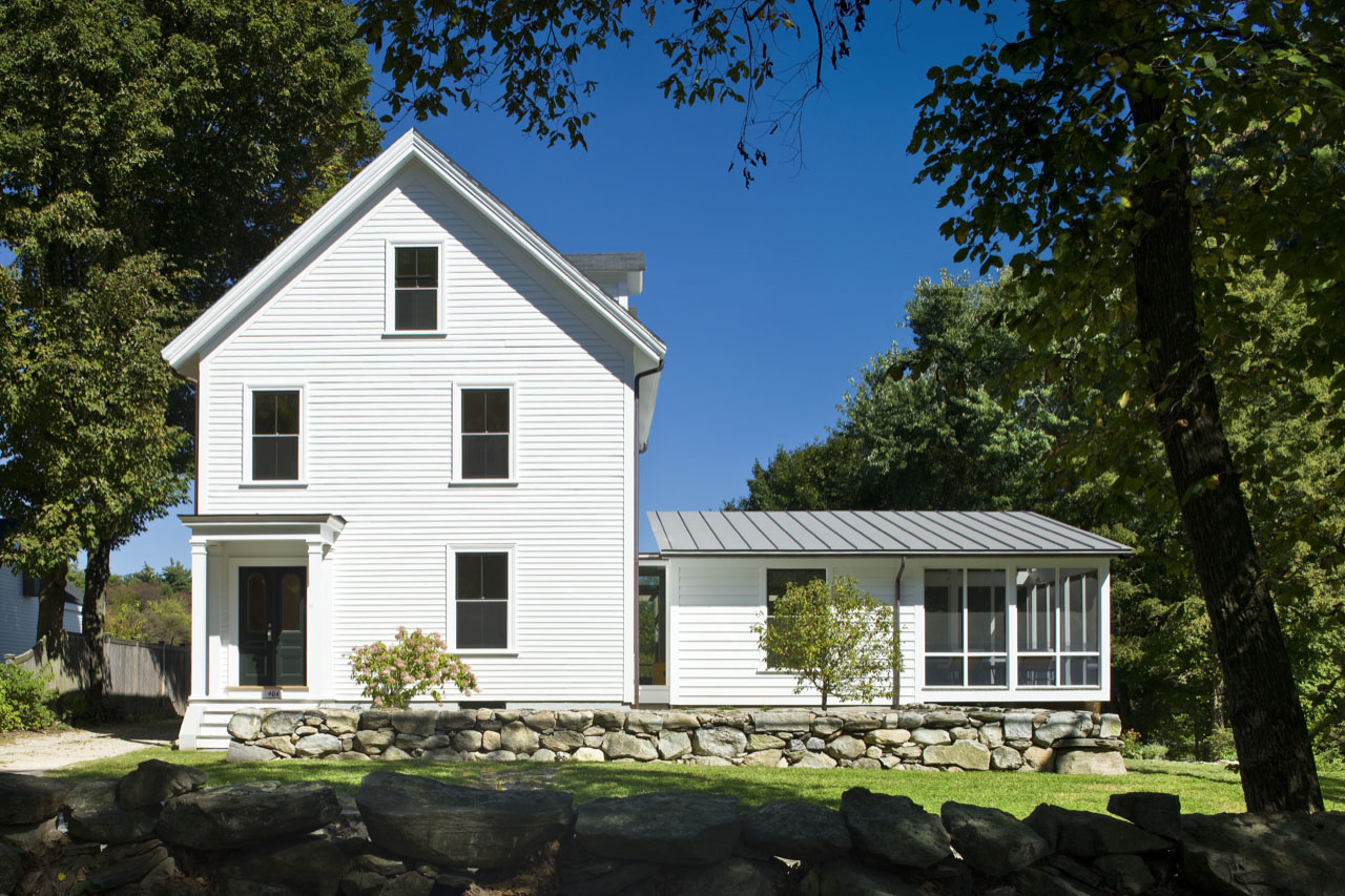 Redesigning a 1890s house in massachusetts idesignarch for Exterior home redesign