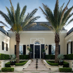 Elegant Regency-Style Palm Beach Villa Combines Classic And Contemporary