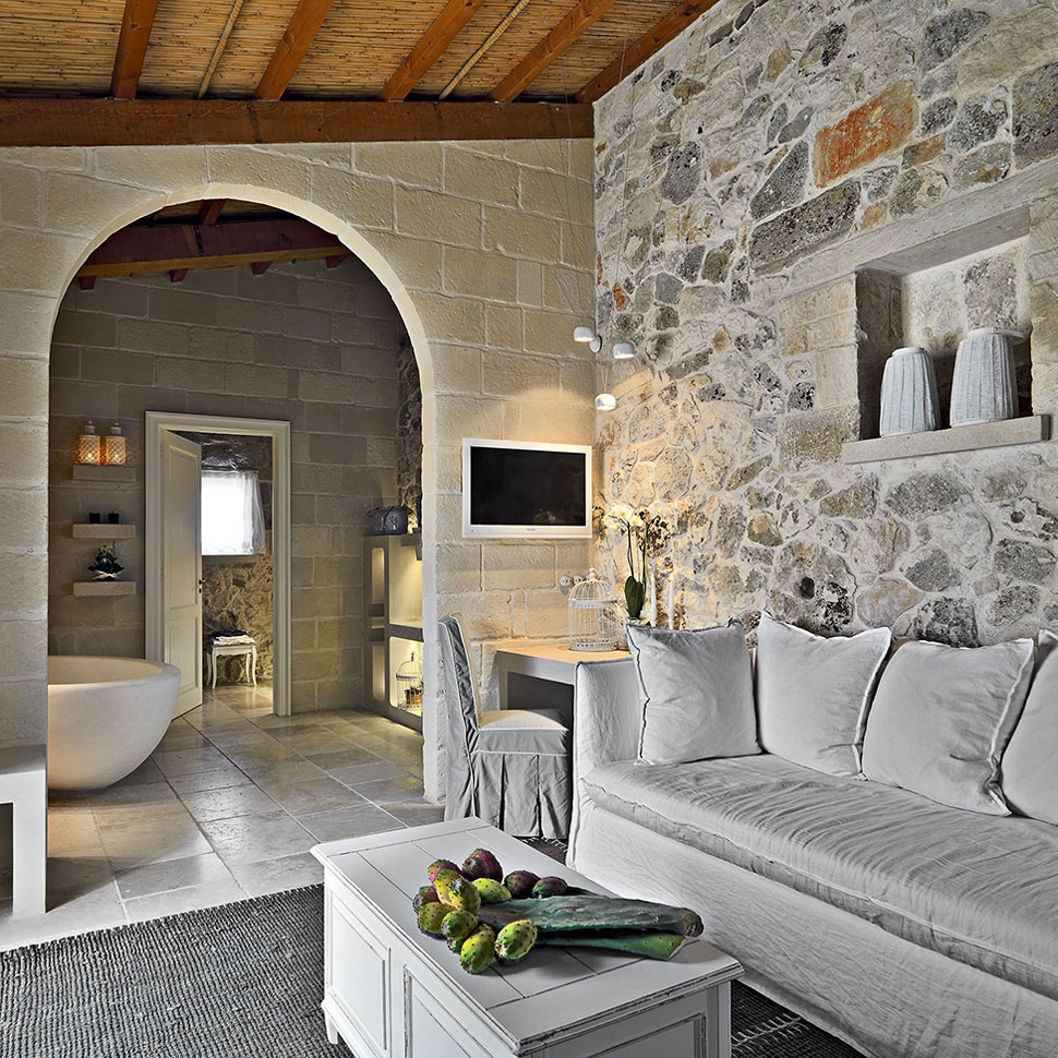 Contemporary Stone Interiors