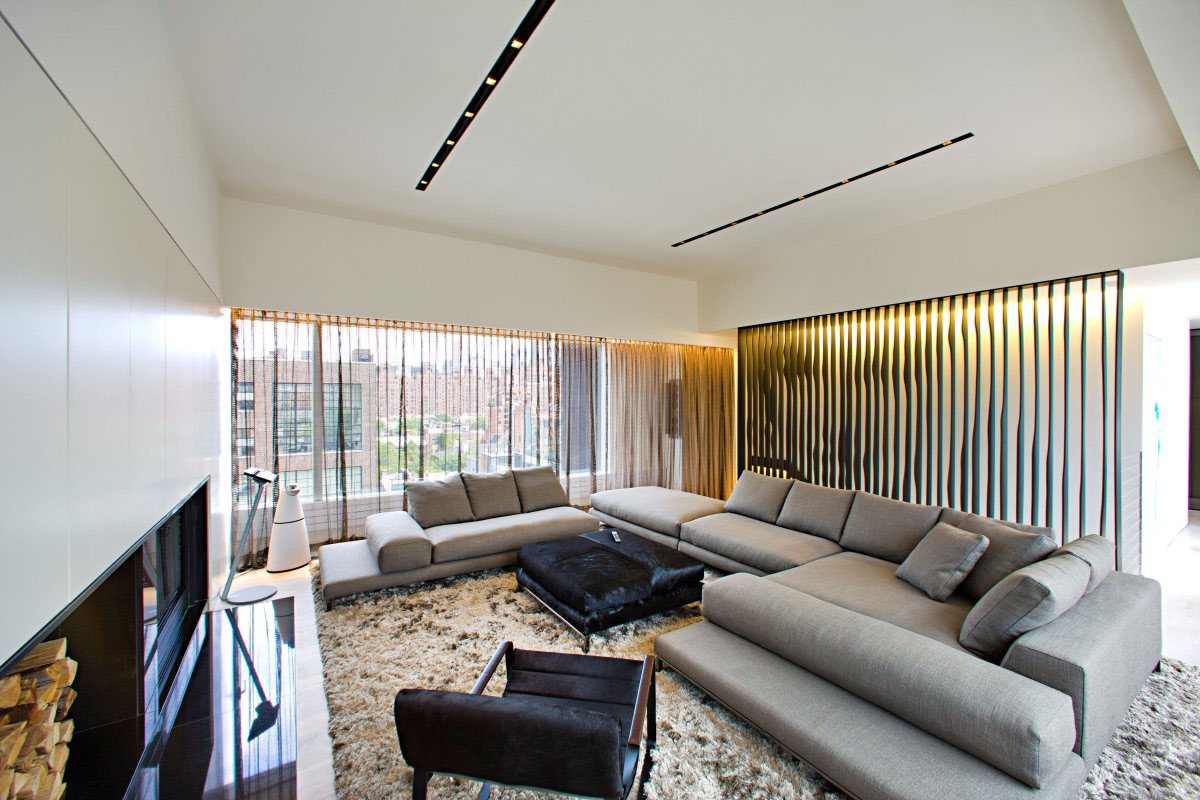 Modern Apartment Interior Design Remodelling Remodelled Rooftop Apartment In New York  Idesignarch  Interior .