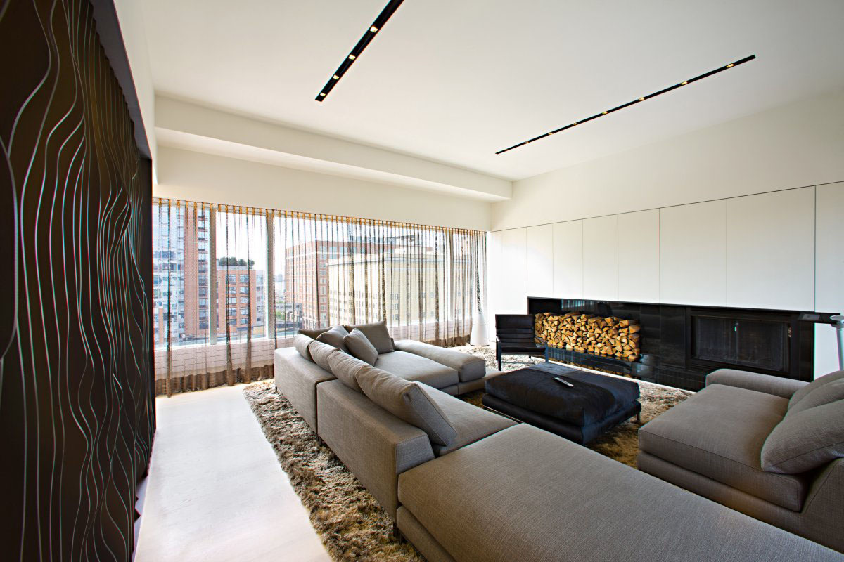Remodelled rooftop apartment in new york idesignarch for Home design york