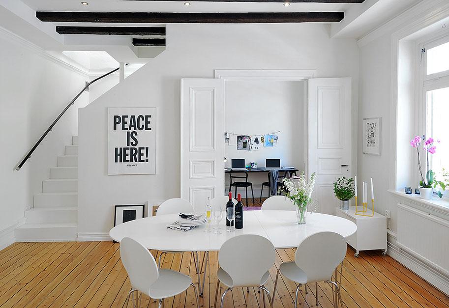 Renovated Attic Duplex Apartment Design Idesignarch Interior Design Architecture Interior