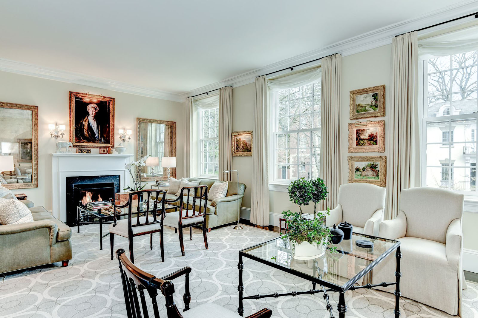 Inside Rex Tillerson S Washington D C Home Idesignarch