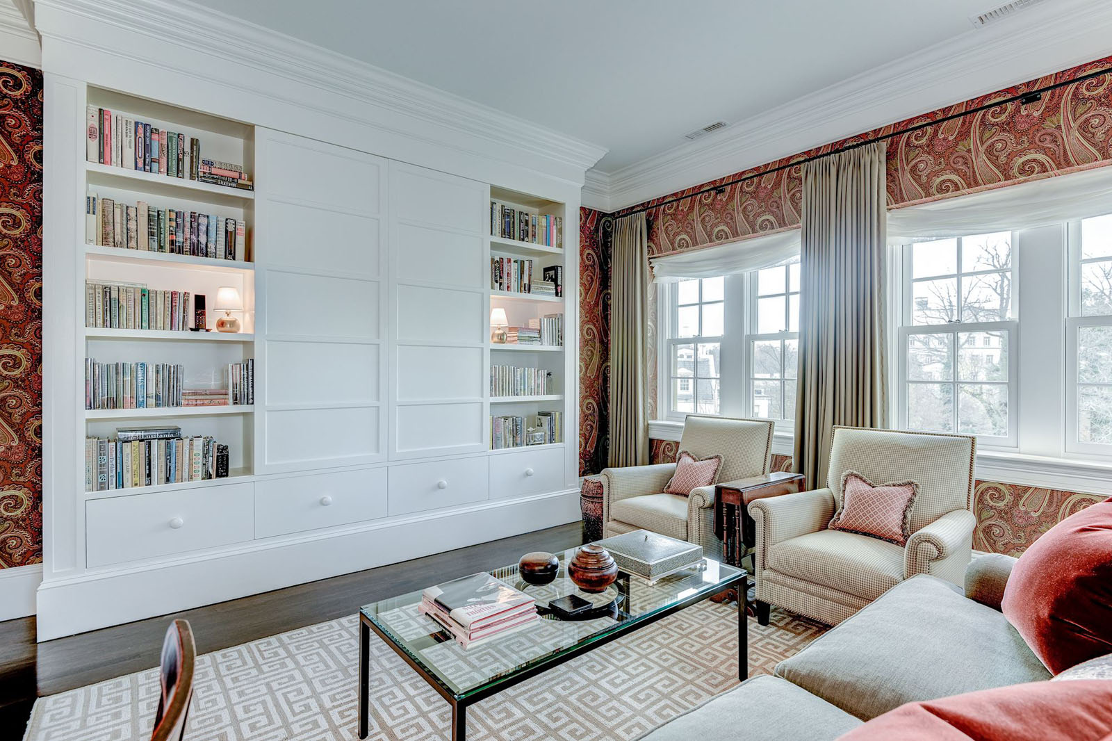 Inside Rex Tillerson 39 S Washington D C Home Idesignarch Interior Design Architecture