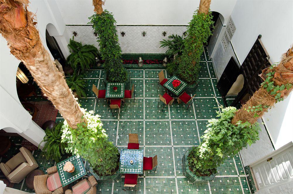 Riad Vert Hotel Marrakesh Courtyard