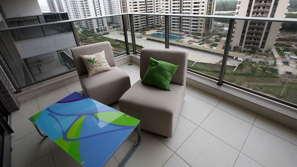 Olympic Athletes Village Apartment Balcony