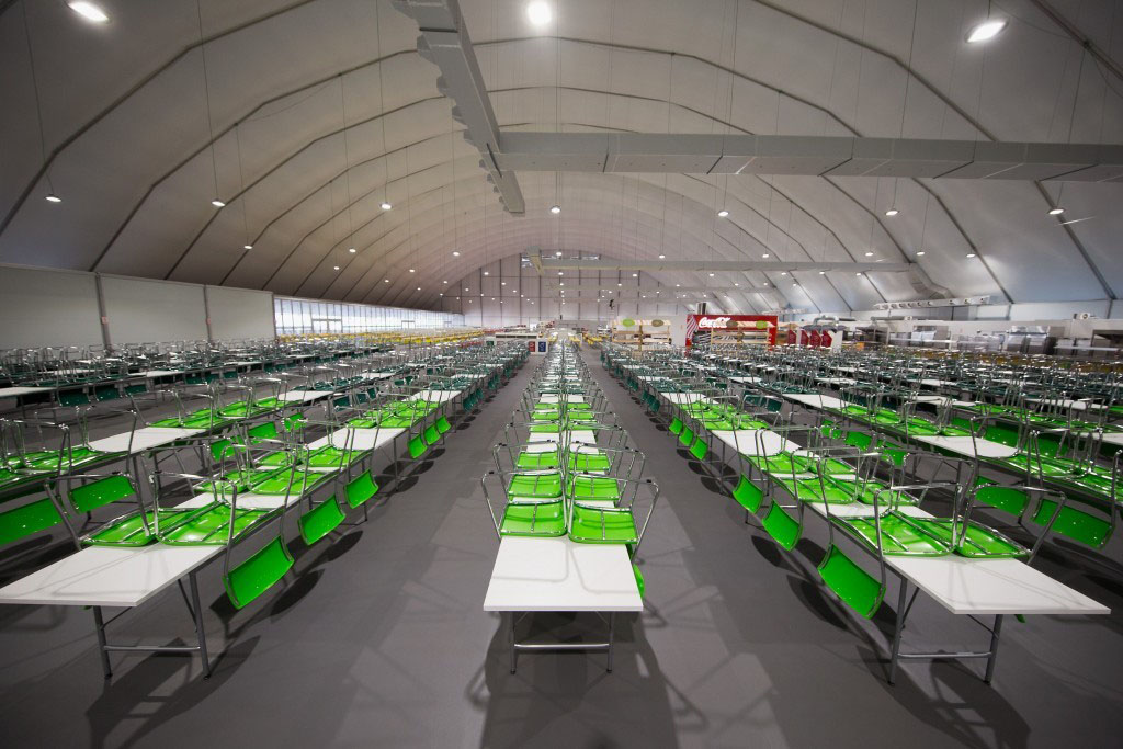 Rio 2016 Olympic Dining Hall