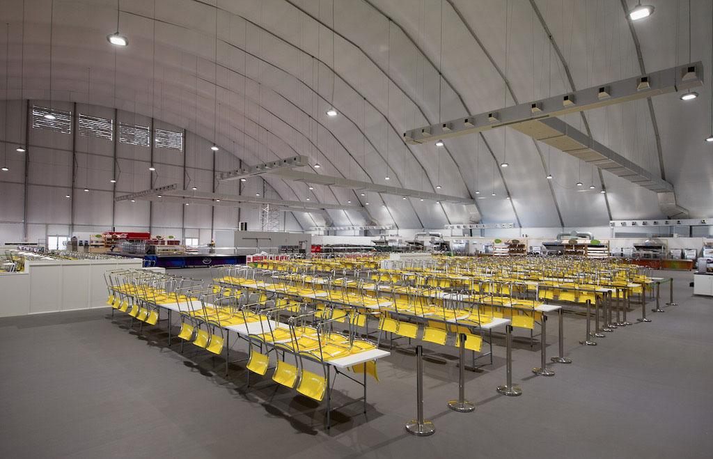 Rio Olympics Dining Hall