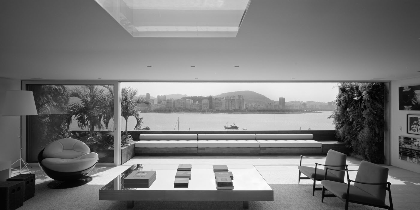 Stunning penthouse in rio with view of sugarloaf mountain idesignarch interior design - Stylish penthouse interior design introducing the charming minimalism ...