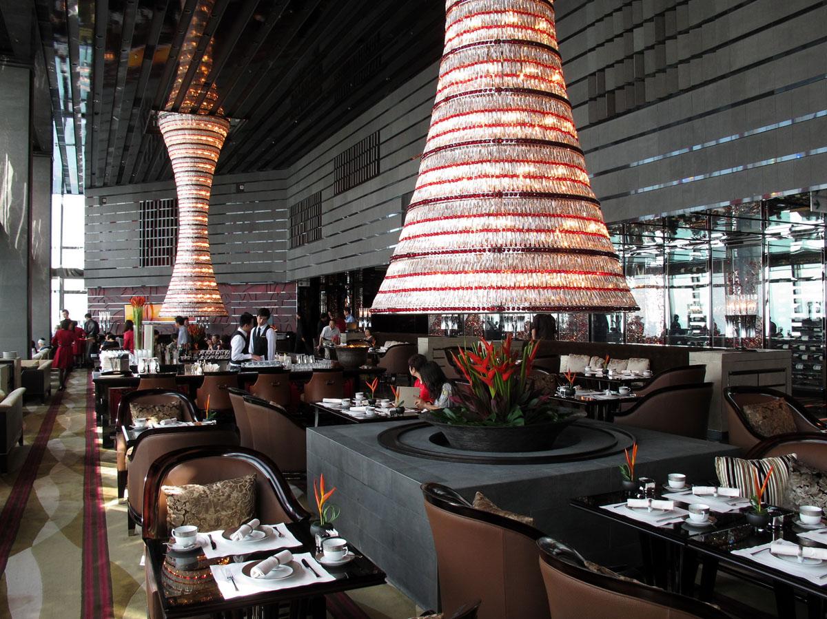 Ritz Carlton Hong Kong World S Tallest Hotel Idesignarch Interior Design Architecture