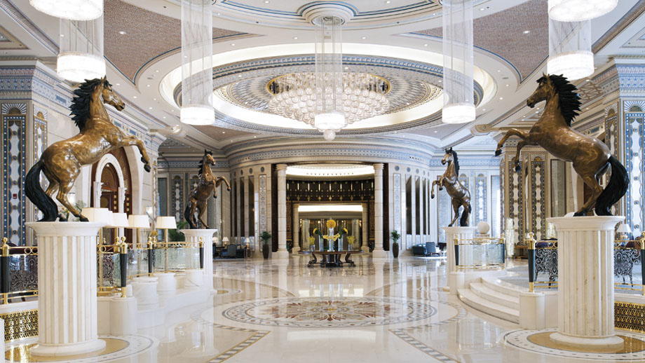 Stately Arabian Architecture At The Ritz Carlton Riyadh
