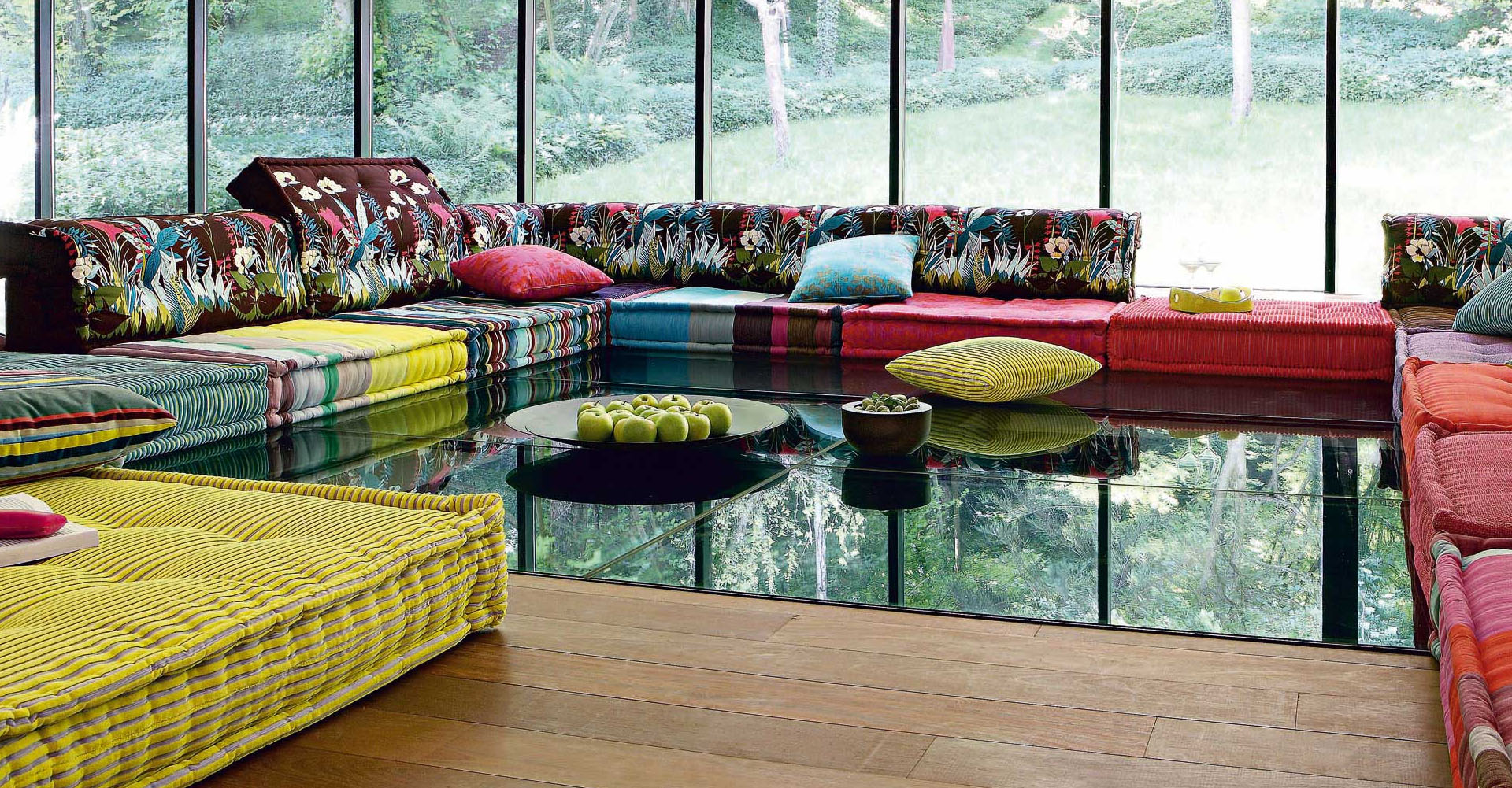 Sofas idesignarch interior design architecture interior decorating - Roche bobois mah jong sofa ...