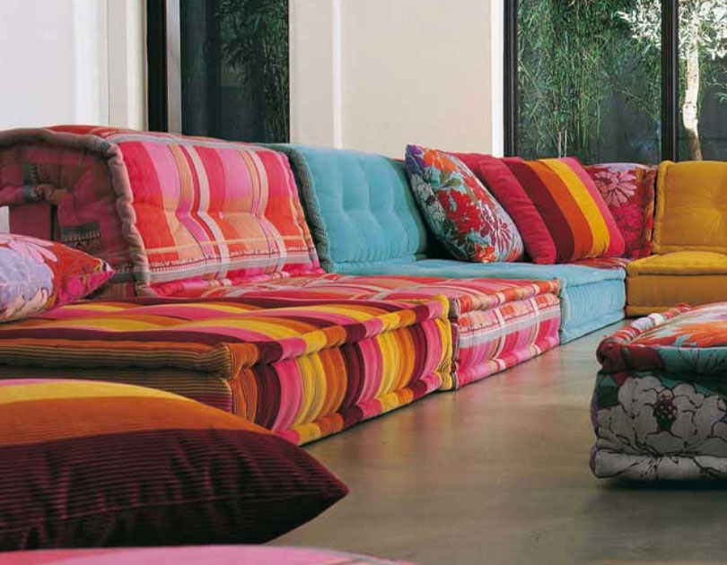 Roche bobois stylish and functional mah jong modular sofas idesignarch in - Roche bobois mah jong ...