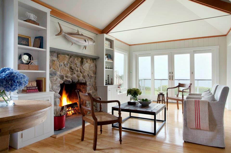 Cozy Beachfront Cottage Style Bungalow In Rockport Idesignarch Interior Design Architecture