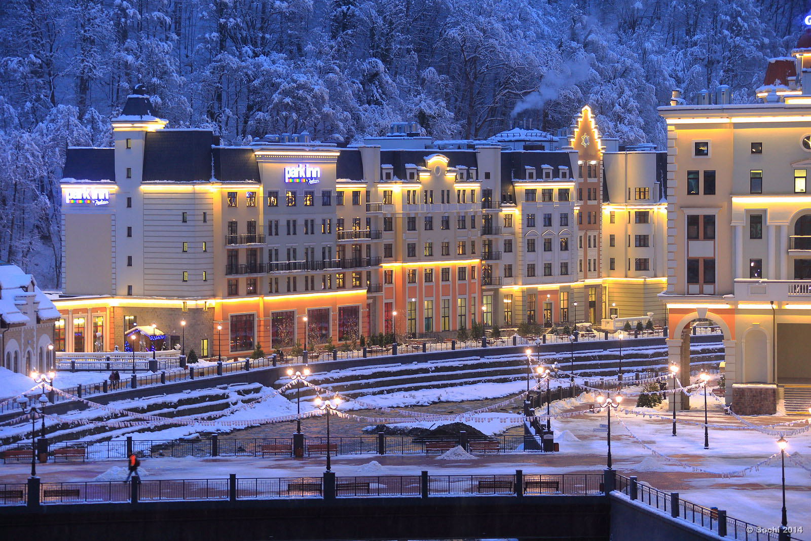 Rosa Khutor Sochi Mountain Olympic Resort