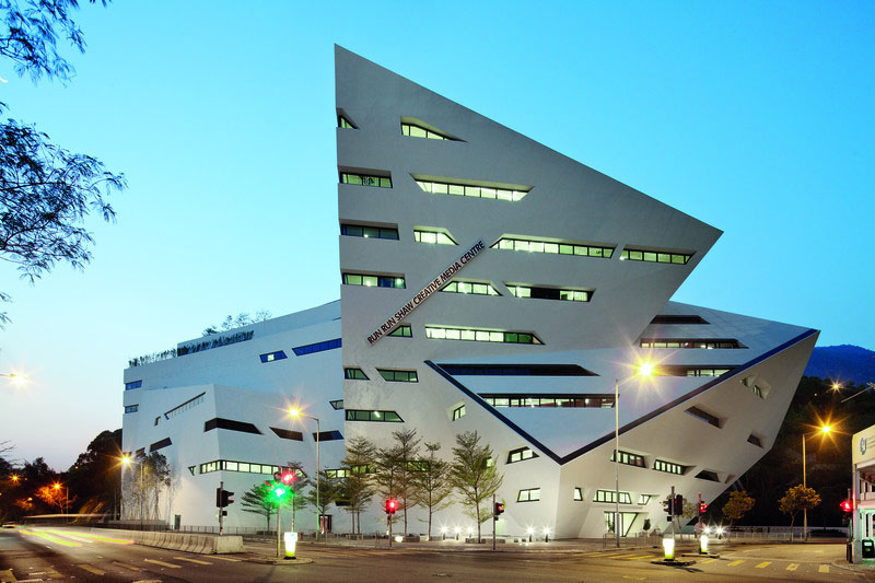 The Run Run Shaw Creative Media Centre By Daniel Libeskind