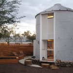 Grain Silo Converted Into A Cozy 340 Square Foot Small House