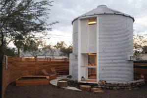 Charming Grain Silo Tiny House