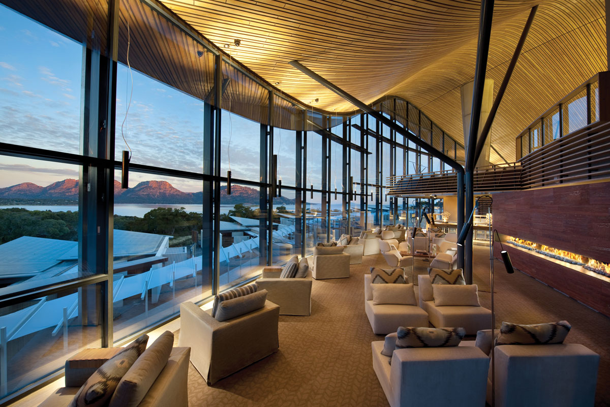 Saffire freycinet stunning resort hotel in tasmania for Motel luxury