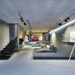 An Ultra Modern House In Hong Kong With A Glass-Walled Garage