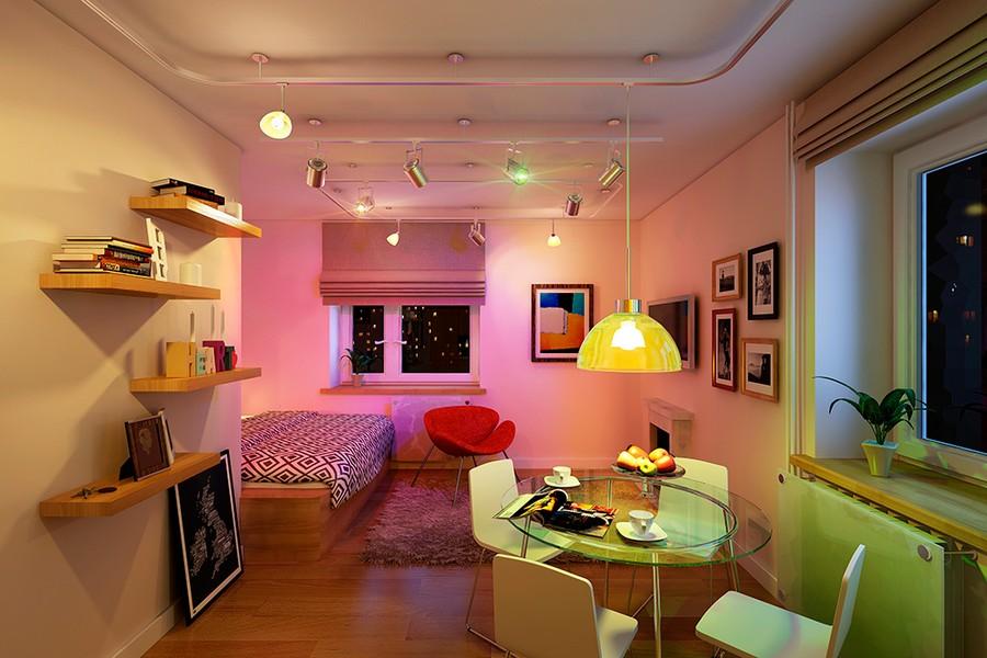 Saint petersburg studio apartment 2