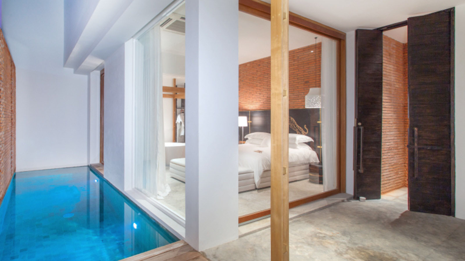 Hotel Guest Suite with Private Pool