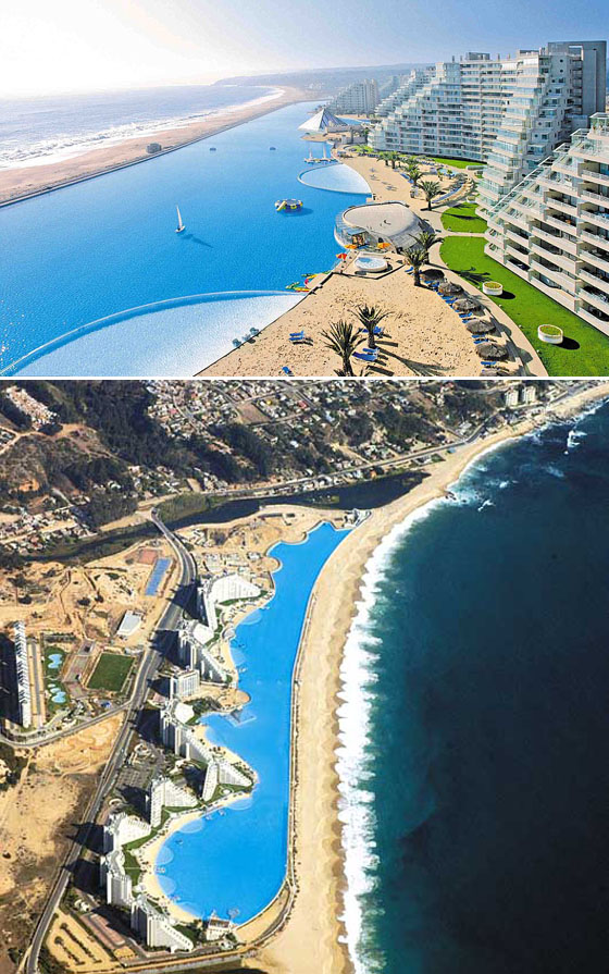 worlds most amazing hotel swimming pools san alfonso del mar swimming pool - World S Most Amazing Swimming Pools