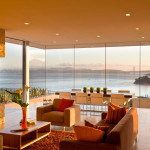Stunning Contemporary Home With View Of San Francisco Bay And Golden Gate Bridge