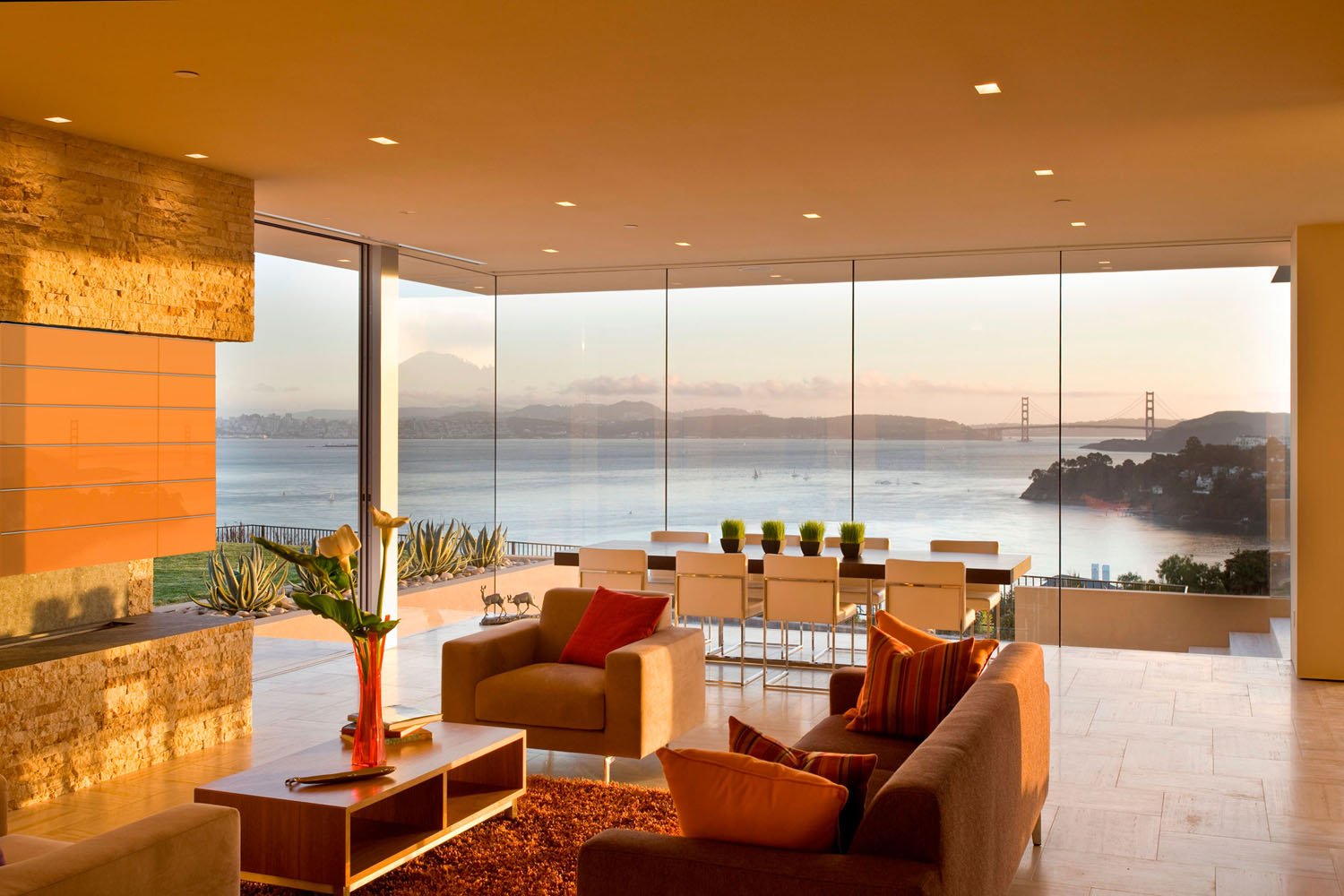 Stunning Contemporary Home With View Of San Francisco Bay And Golden on best green homes, gala design homes, net zero homes,
