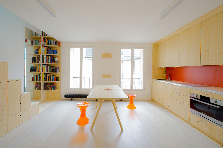 Modern Apartment Paris