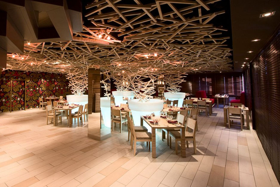 Unique restaurant designs art and architecture