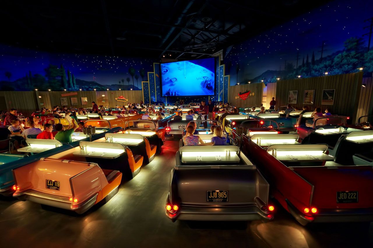 Sci Fi Dine In Theater At Walt Disney World IDesignArch