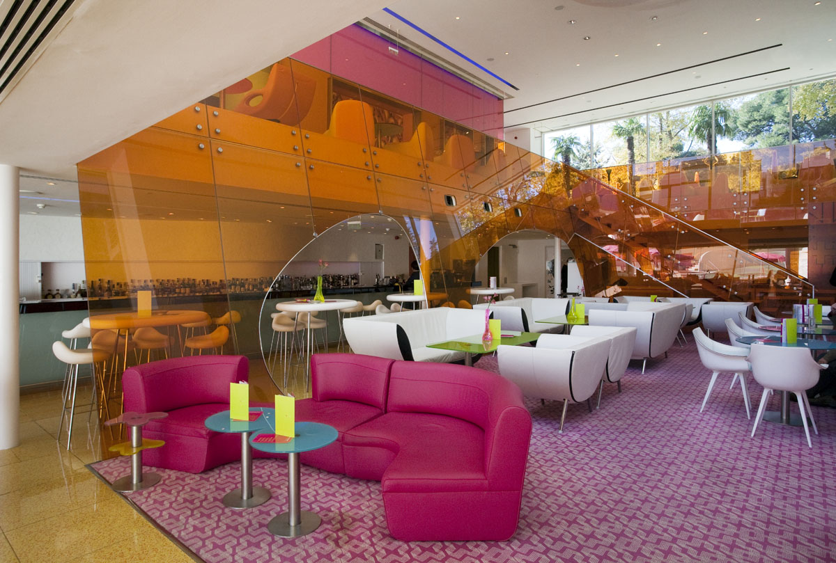 Cutting Edge Semiramis Hotel Idesignarch Interior