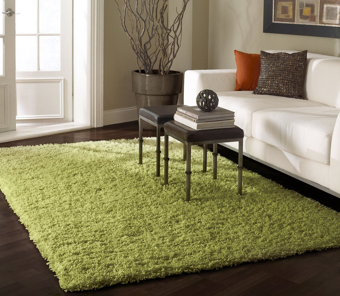 Create cozy room ambience with area rugs idesignarch - Tapis de salon moderne ...