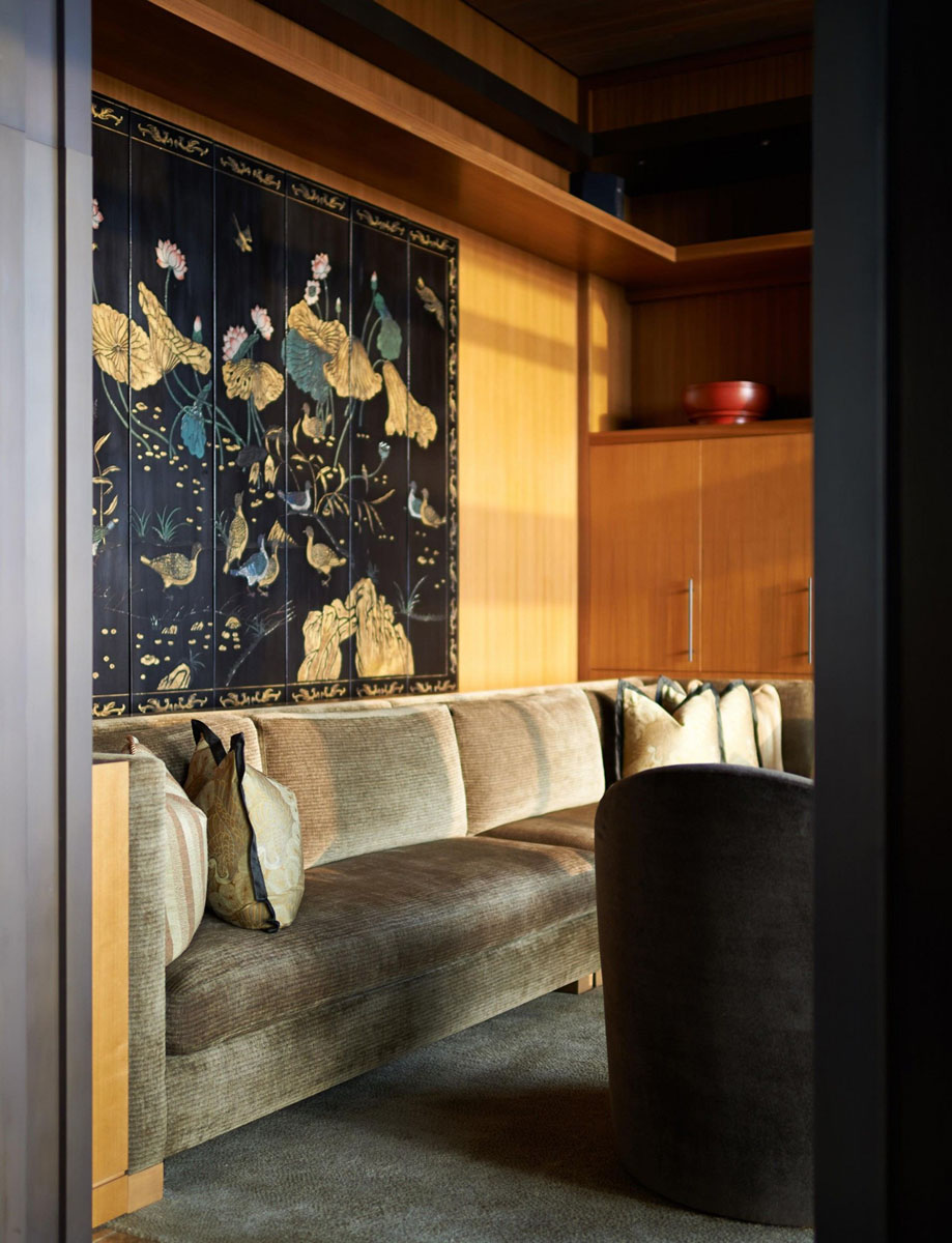 contemporary hong kong villa inspired by traditional chinese
