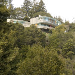 Sky Arc Residence Embedded In The Hillside
