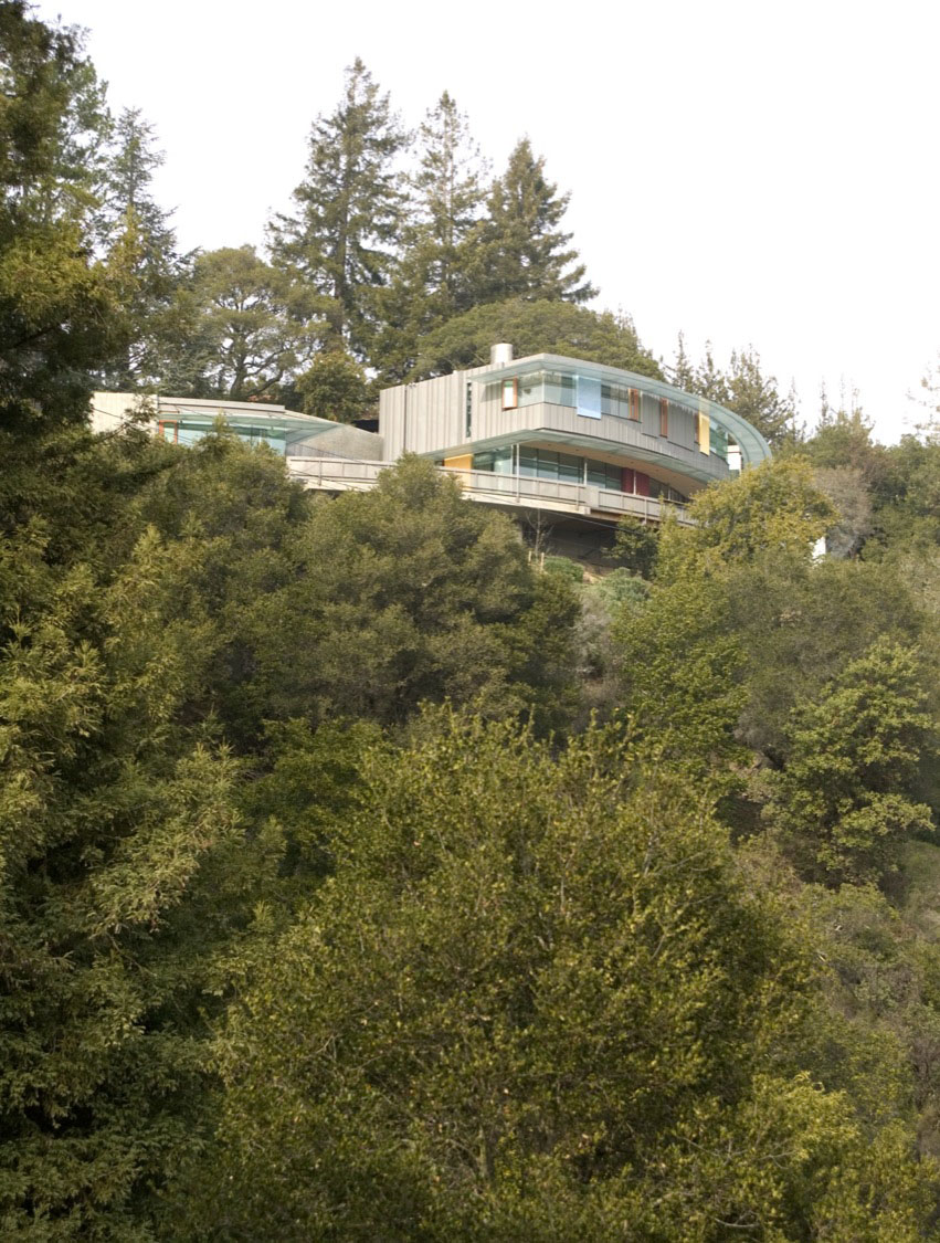 Sky Arc Residence Embedded In The Hillside Idesignarch