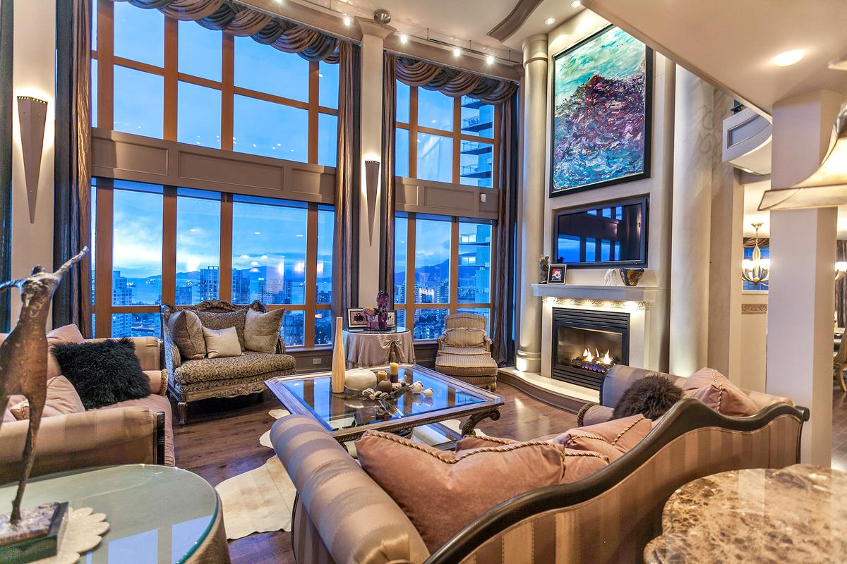 The ultimate luxury penthouse mansion in vancouver for Apartment design vancouver