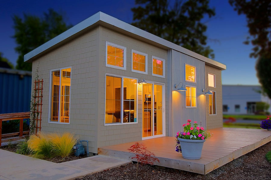 Charming Small Prefab Home Model IDesignArch Interior