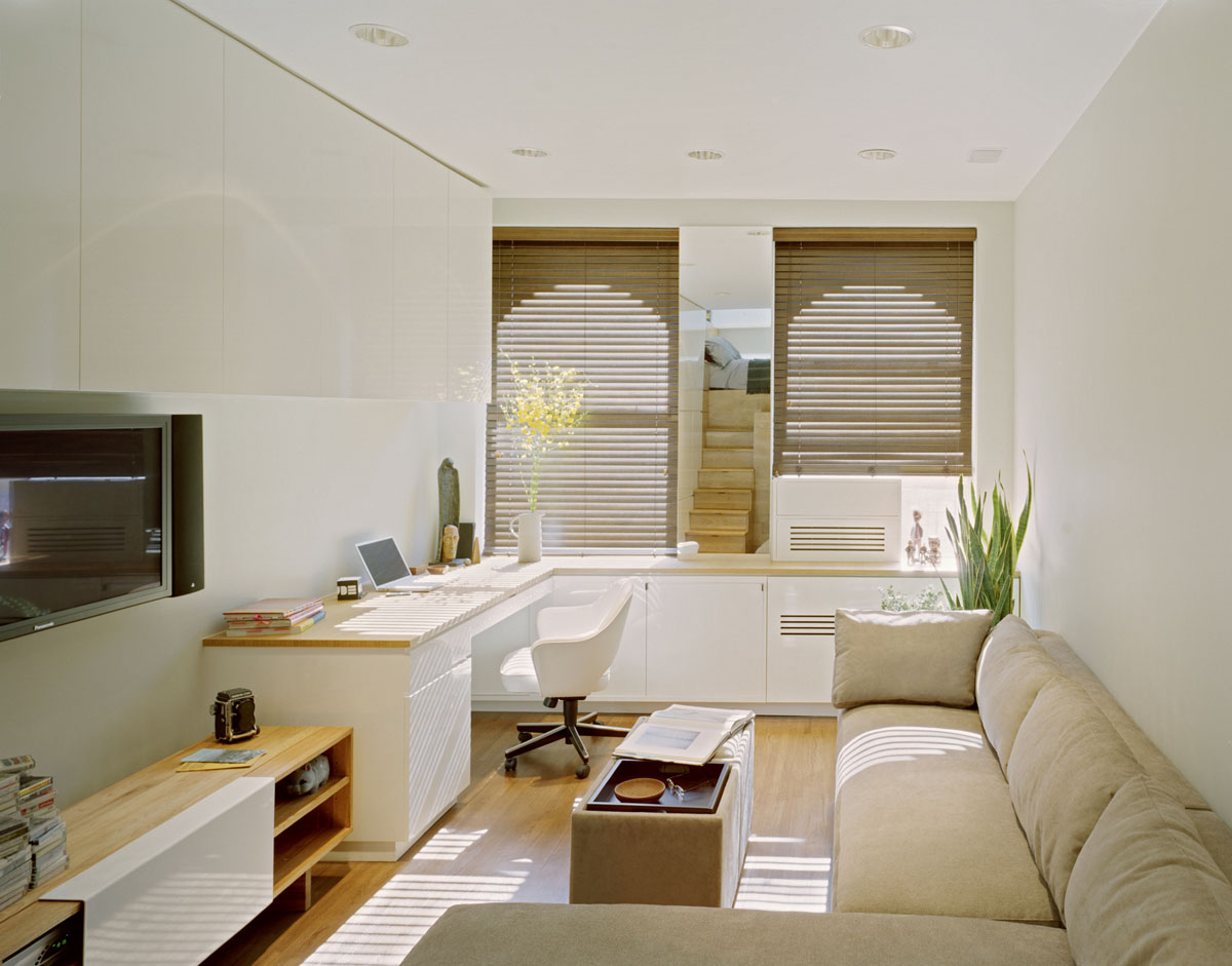 Small studio apartment design in new york idesignarch for Small efficiency apartment