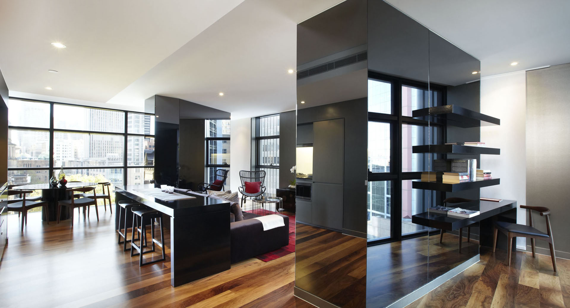 Contemporary apartment designs in sydney idesignarch for Modern studio apartment ideas