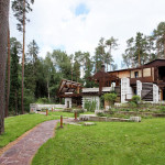 Interesting Country Cottage Design In Russia
