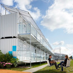 Portable Hotel Made From Shipping Containers