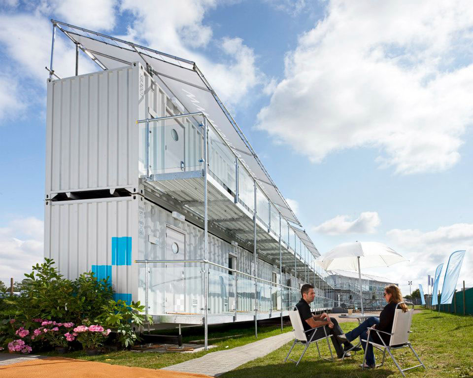 Portable Hotel Made From Shipping Containers Idesignarch