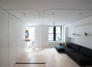 Smart Studio Apartment Design New York