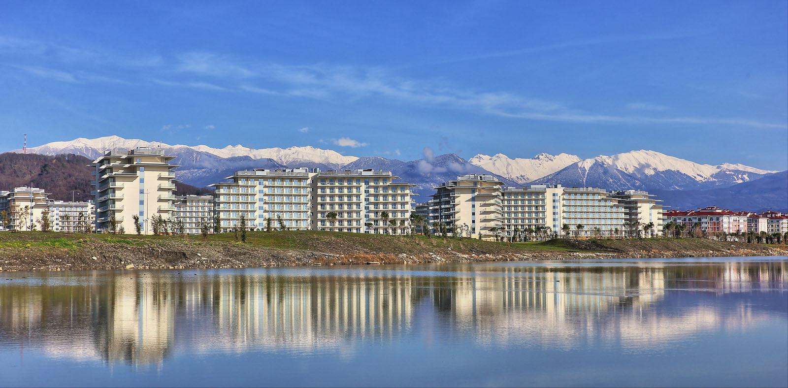 Sochi 2014 Olympics Coastal Village