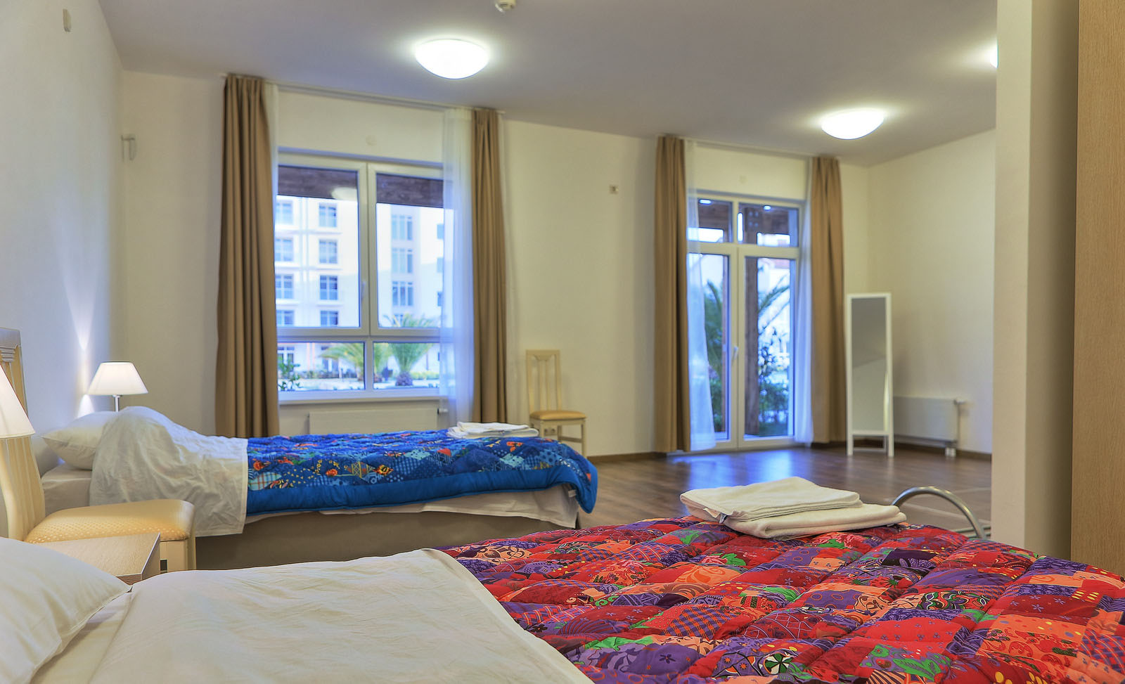 Inside Sochi Olympic Athletes Bedroom